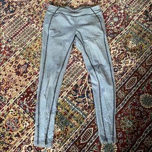 Ralph Lauren navy/black n white striped leggings
